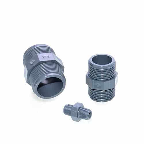 PVC Doppelnippel mit AG