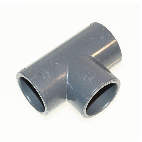 PVC T-Stück 90°