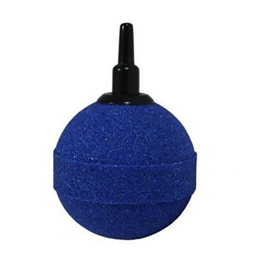 Luftstein Kugel blau low budget