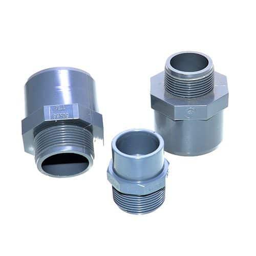 PVC-Übergangsmuffennippel