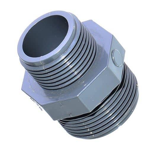 PVC Reduziernippel-2-x-AG1