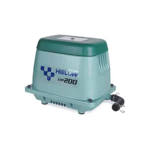 AquaForte Hi-Blow AP 100 Luftpumpe Koi Teich Belüfter Pumpe Sauerstoffpumpe NEU!