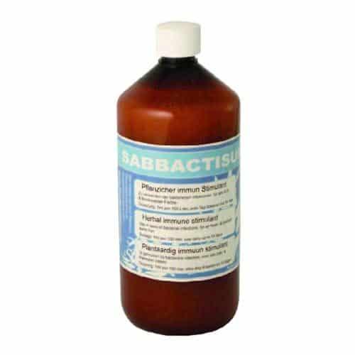 Sabbactisum gegen bakterielle Probleme