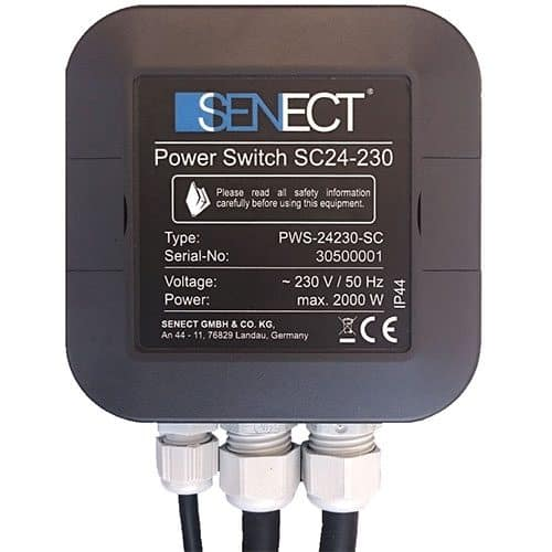 Senect Power Switch 24/230