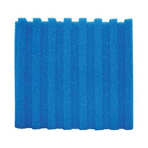 Filterschaum Blau T-Profil 58x27cm