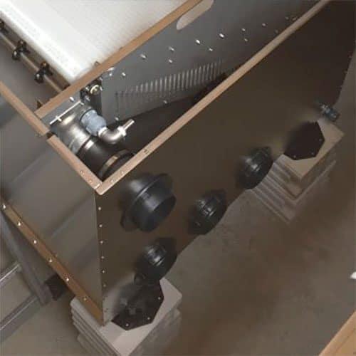 Woodland verstellbare Füße für Teichfilter und Biokammer