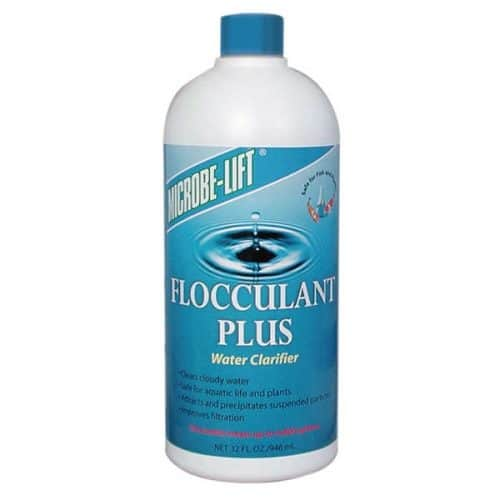 Flocculant Plus Teichklar Auch gegen Schwebealgen!
