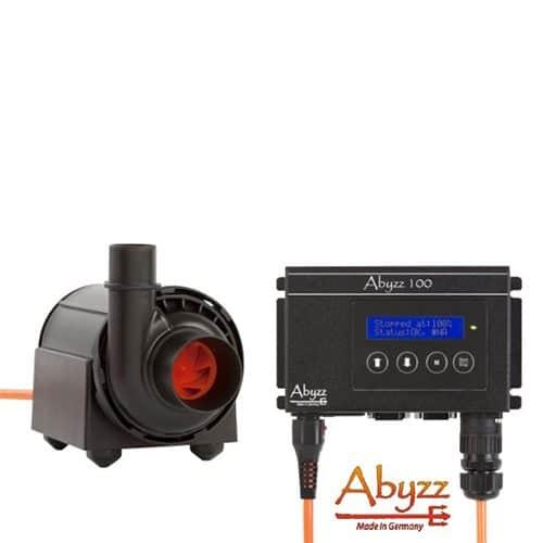 Abyzz A100 regelbare Pumpe mit Titan Läufer