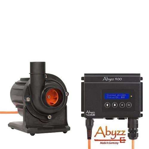 Abyzz A400 regelbare Pumpe mit Titan Läufer