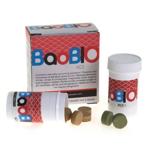 BaoBio Koi reduziert schädliche Pseudonomas und Aeromonas Bakterien