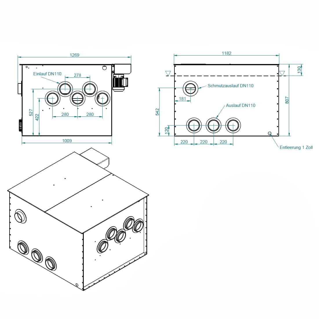 Zeichnung-Woodland-EBF-80 Endlosbandfilter