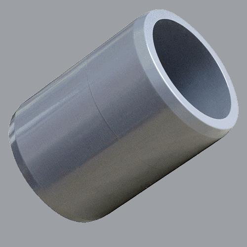 PVC-Verbindungsstück / Rohrstück