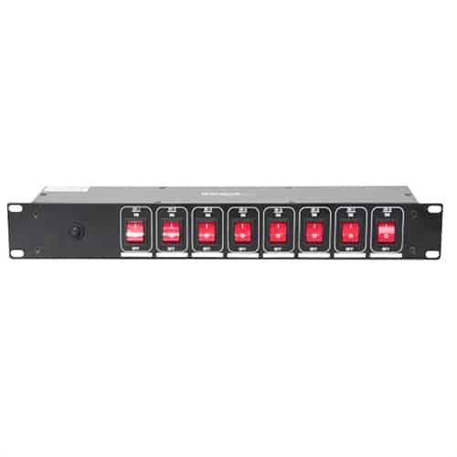 Steckdosenverteiler mit 8 schaltbaren Steckdosen