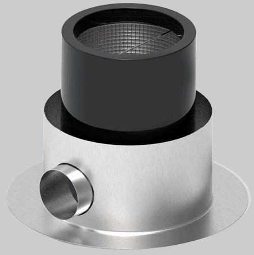 Edelstahl Skimmer / Standskimmer 280 mm