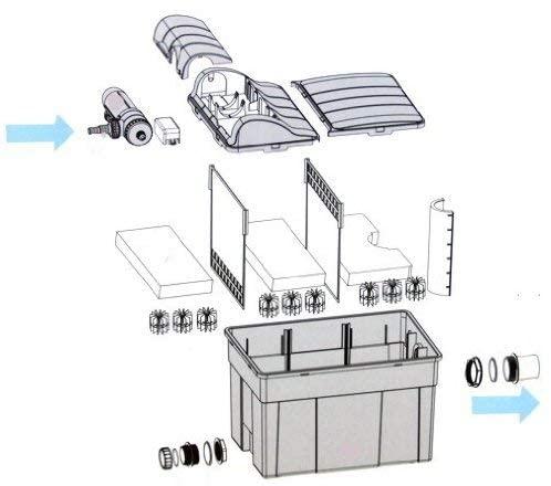 AquaForte Kammer Filter 12000-4